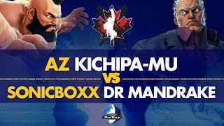 AZ Kichipa-mu (Zangief) VS SonicBoxx DR Mandrake (Urien) - Canada Cup 2019 Pools - CPT 2019