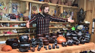???? Погремушка сына Ильи Муромца, лист - мыльница и горшок мешок Обзор изделий Волшебство керамики
