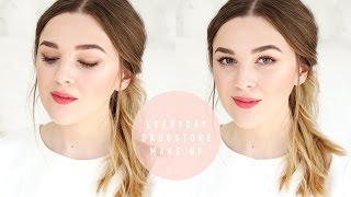 Everyday Drugstore Make Up: Glowing Skin Routine | I Covet Thee | AD
