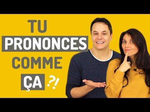 10 Mots Que Tu Prononces Mal ! | Prononciation Française