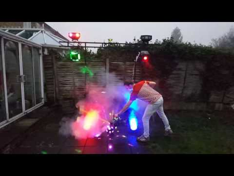 Mobile DJ Light Set-Up For Sale