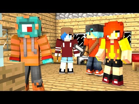 THE WHOLE SQUAD PLAYS MINECRAFT MURDER MYSTERY! | MicroGuardian