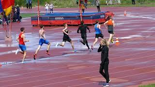 2018 Область юниоры   800 м М финал1