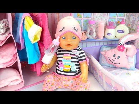 Куклы Пупсики #Бебибон Алиса Упрямится Новая Пижама Игрушки для девочек
