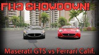 Showdown Maserati Granturismo S Vs Ferrari California Forza Horizon 3 Youtube