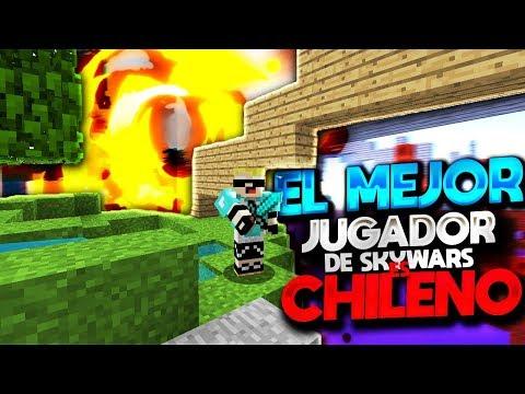 El Mejor Jugador De Skywars es Chileno