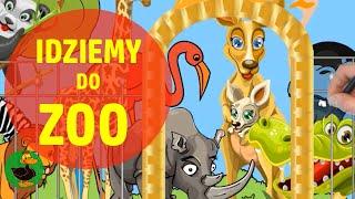🦁 Idziemy do ZOO   Zwierzęta egzotyczne [2020] 🧒 Zwierzęta dla dzieci   Zoo wiersz   Bajki po Polsku