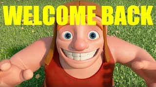 Welcome Back Builder - Clash Of Clans