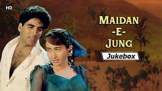 Maidan E Jung 1995 HD Songs मैदान ए जंग Akshay Kumar Karisma Dharmendra Bappi Lahiri Hits
