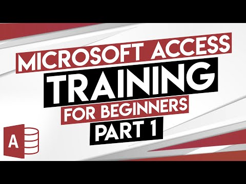 Microsoft Access Tutorial - MS Access Training For Beginners - Part 1