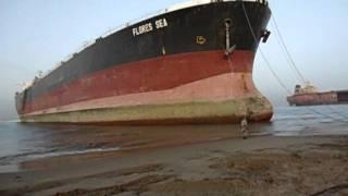 Ship Beaching at Gaddani M. T.
