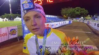 Émilie Lecomte - 2ème féminine du Grand Raid 2017