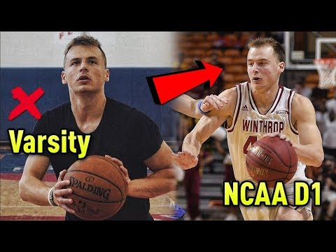 He NEVER Played Varsity In High School But Is NOW A PRO Basketball Player!!
