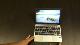 ASUS C201 Chromebook Unboxing & Hands On