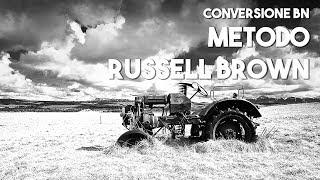 Conversione in Bianco e Nero, metodo di Russell Brown - Tutorial Photoshop