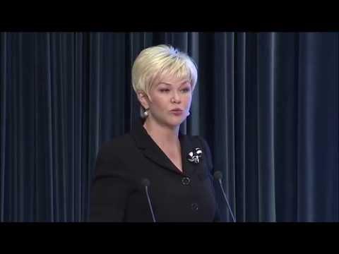 Заместитель Министра здравоохранения России Яковлева Т.В.