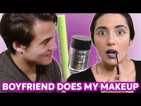My Boyfriend Does My Makeup