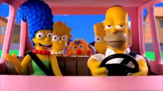 Los Simpson en Plastilina !! Capitulo especial.. Couch gag