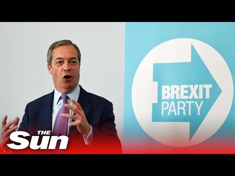 Nigel Farage and Richard Tice speak at Brexit Party parliamentary candidates event | LIVE