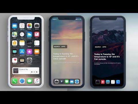 Install FrontPage Tweak on iOS 11 - Customize Home Screen on iPhone - Nyx Tweak
