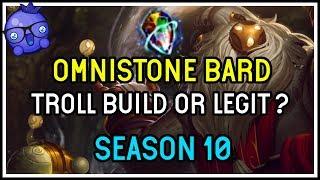 Omnistone Bard - Is it Legit or Troll? - League of Legends Season 10