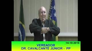 Pronunciamento Cavalcante Junior 14 10 16
