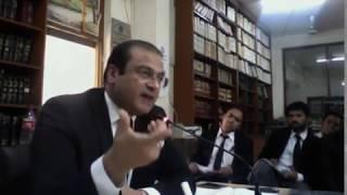 Barrister Salman Safdar on Criminal Advocacy and Drafting