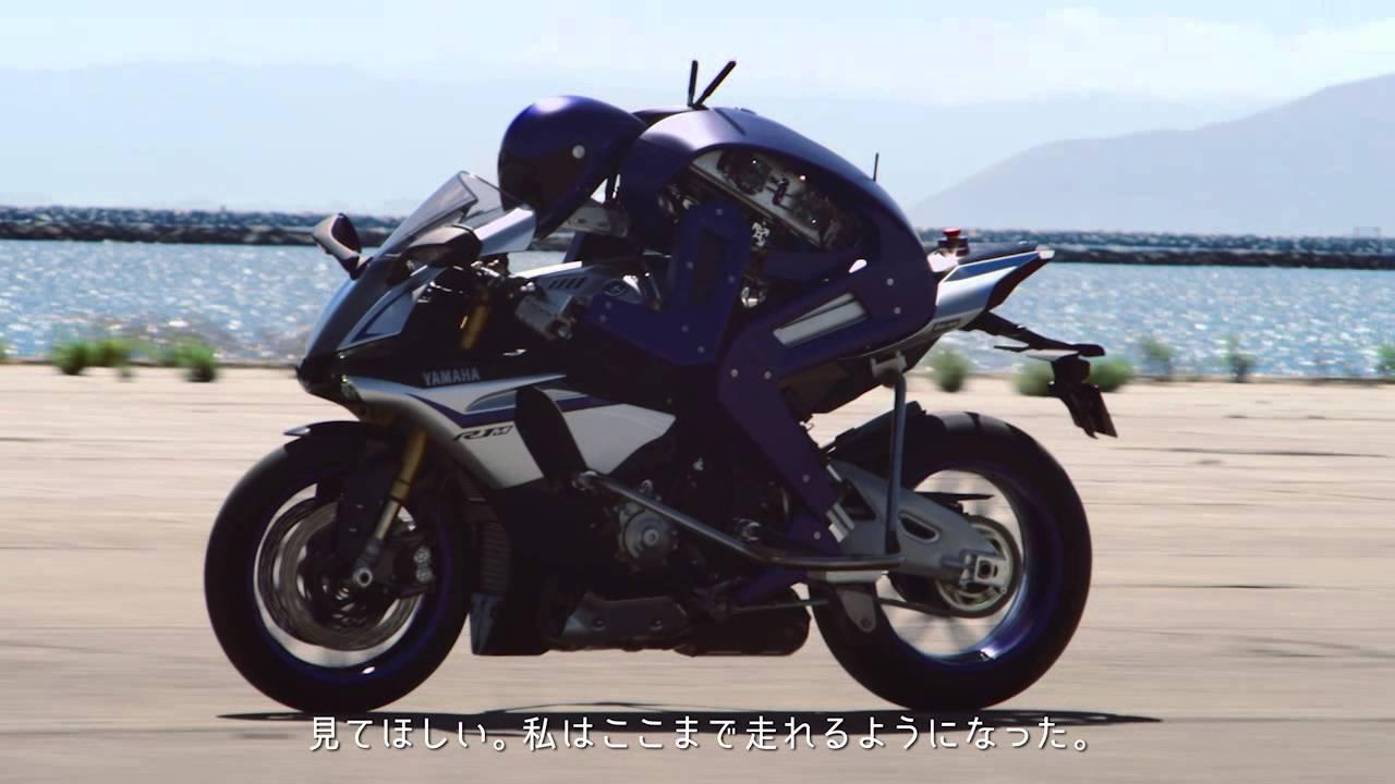 """画像: MOTOBOT Ver. 1 / To """"The Doctor"""", 親愛なるロッシへ www.youtube.com"""