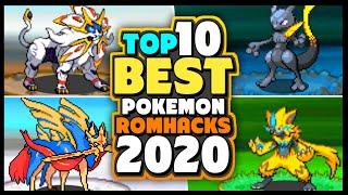 TOP 10 BEST POKEMON GBA ROM HACKS OF 2020!