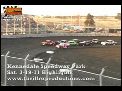 Kennedale Speedway Park 3-19-11 Highlights