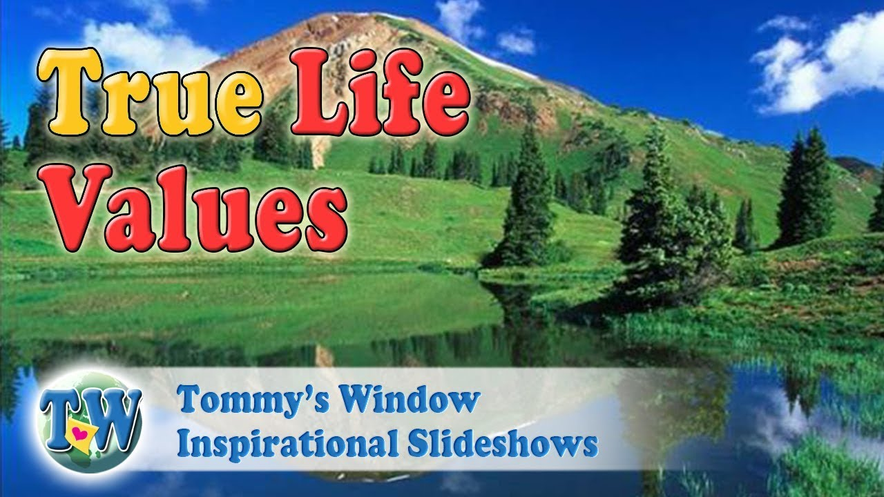6a535292a087 True Life Values - Tommy s Window Inspirational Slideshow - YouTube