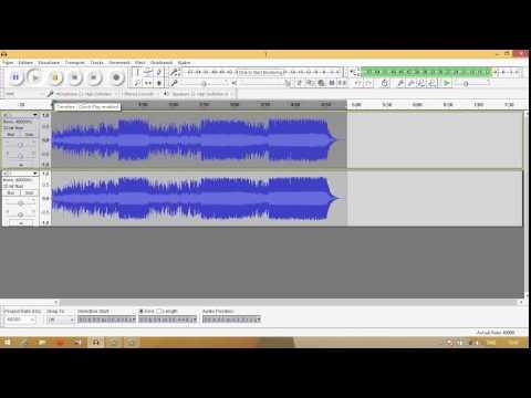 Cum faci un instrumental pentru karaoke in Audacity