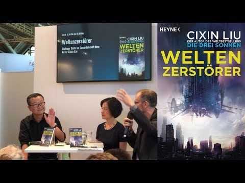 #FBM18 Interview mit Cixin Liu auf der Frankfurter Buchmesse 2018