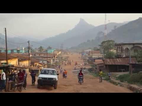 Côte d'ivoire Man Centre ville / Ivory Coast Man City center