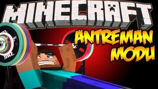 Minecraft : Eğlenceli Mod Tanıtımı : ANTREMAN MODU !