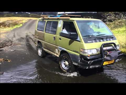 ICELAND 2015 River crossings L300 COSMOS 4WD