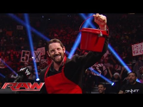Bad News Barrett reveals he's keeping the money he collected for charity: Raw, Dec. 23, 2013