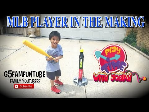 GROW TO PRO TRIPLE HIT, ⚾😜 MLB PLAYER IN THE MAKING FISHER PRICE