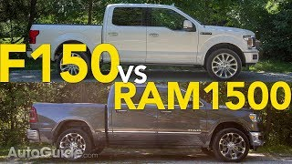 2019 Ram 1500 vs 2018 Ford F-150 Truck Comparison