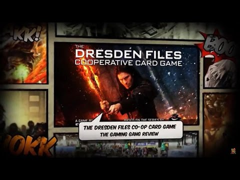 'The Dresden Files Cooperation Card Game' Reviewed