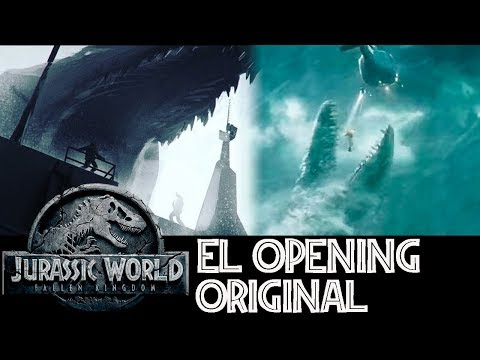 La Escena Eliminada del Mosasaurus - Fallen Kingdom