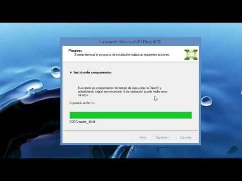 Descargar Directx 9 Para W10, 8.1, 8, 7 Y XP