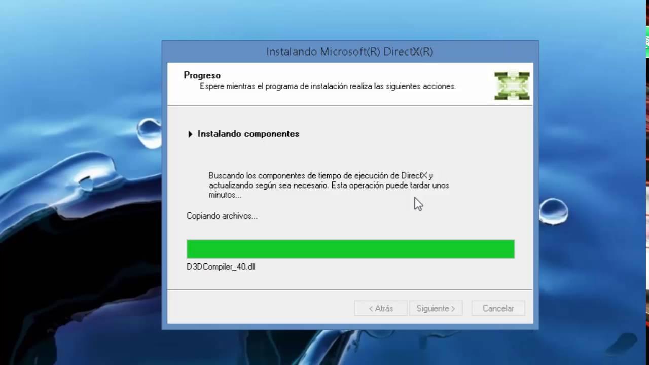 descargar directx 7.0 para windows 7 32 bits