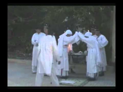 Lễ tế các vong linh chiến sĩ trận vong thanhtinhdaithanh đạo cao đài