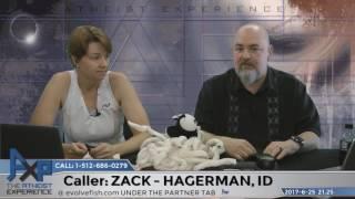 Faith as a Divine Sense | Zack - Hagerman, ID | Atheist Experience 21.25