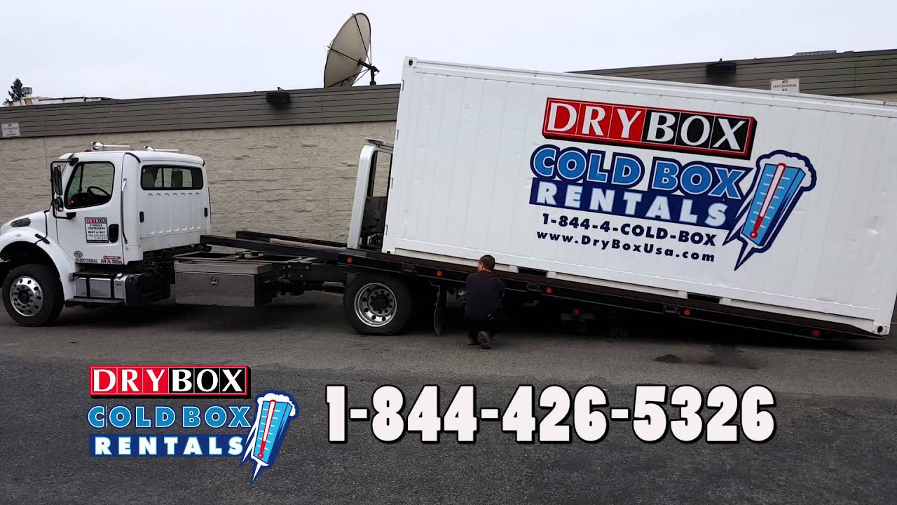 Marvelous DRY BOX COLD BOX   Delivery Of Portable Cold Storage Unit