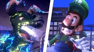 Luigi's Mansion 3 - Godzilla Boss Fight Gameplay