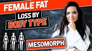 Female Mesomorph Body Transformations | Transformaciones femeninas del cuerpo mesomorfo