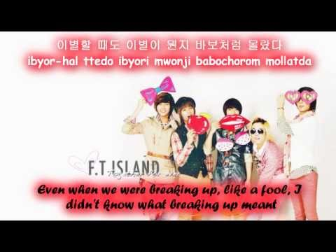 FT Island Even Lost A Friend [Eng Sub + Romanization + Hangul] HD