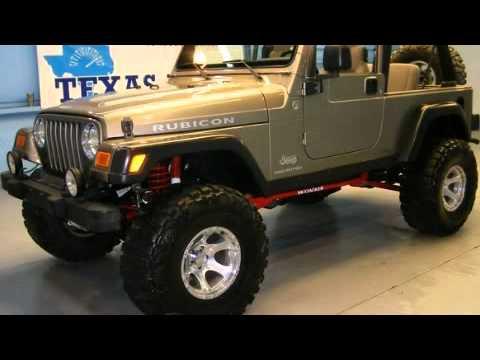 2005 jeep wrangler rubicon dallas tx youtube. Black Bedroom Furniture Sets. Home Design Ideas
